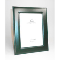 Green Leather Picture Frames