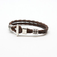 Torino Leather - Phoenix Bracelet