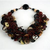 Maple Walnut Necklace