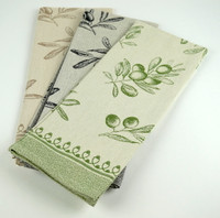 Olive Kitchen Towels