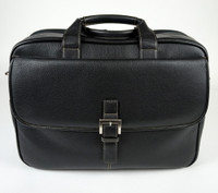 Torino Leather - Double Zip Briefcase
