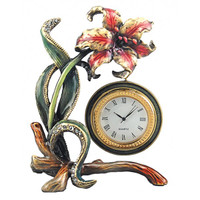 Ashleigh Manor -Hibiscus Clock