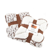 Stone Brown Dog Blanket