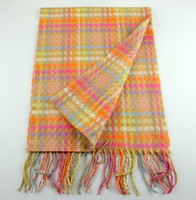 Cashmere Scarf - Houndstooth