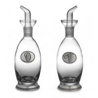 Arte Italica Tavola Oil and Vinegar Bottles