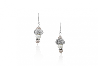 Mignon Faget Round Knot Drop Earrings