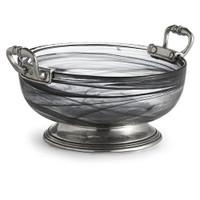 Arte Italica Volterra Nero Medium Bowl
