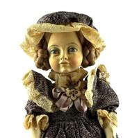 Vintage Italian Doll (Edna)