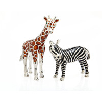 Giraffe/Zebra Salt & Pepper Shakers