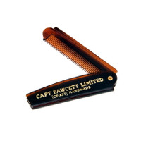 Captain Fawcett Beard Comb and Case