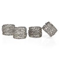 Round Mesh Napkin Rings