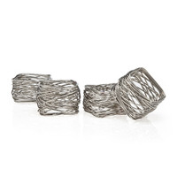 Square Mesh Napkin Rings