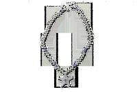 Starfish Jeweled Necklace