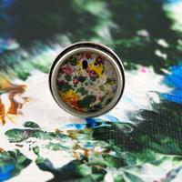 "Antique Silver Ring - ""Kaleidoscope"""