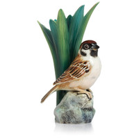 Franz - Tree Sparrow Porcelain Vase