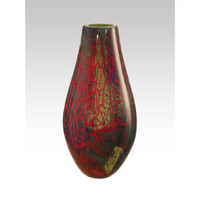 "Dale Tiffany Art Glass - ""Stuart"" Vase"