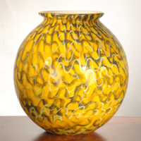 "Dale Tiffany Art Glass - ""Viggo"" Glass Vase"