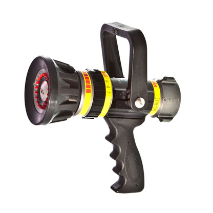 "30 - 125 GPM Select Gallonage 1 1/2"" is our most popular and versatile nozzle. The SG3012 comes with a ball shut off and an ergonomic pistol grip which can easily be removed"