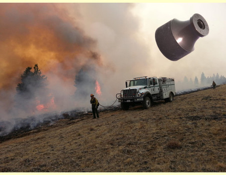 Photo courtesy of the USFS-Don't get all the way out there and without a tip!