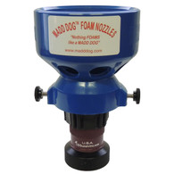 "1 1/2"" 60 gpm constant flow firefighting nozzle with low to medium foam expansion aspirator"