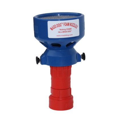 """1 1/2"""" 95 GPM Constant Flow composite plastic firefighting nozzle with low to medium expansion foam attachment"""