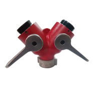 "Made in the USA, our 1 1/2"" wye valve is  a mule-it never stops working!"