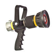 "50 - 160 GPM 1 1/2"" automatic nozzle with pistol grip"