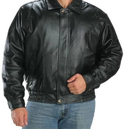 Original Goose | Baron Leather/Down Filled V-Bomber
