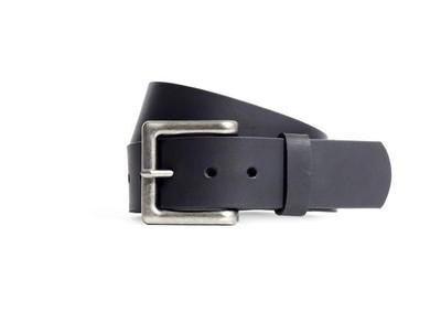 1 3/4 inch leather belt top grain  black or brown