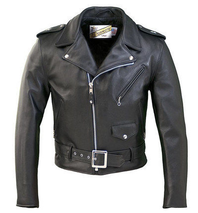 613 One Star Perfecto Leather Motorcycle Jacket