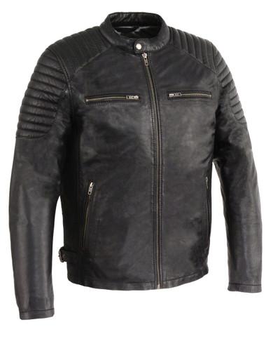 men updated jacket moto look fashion