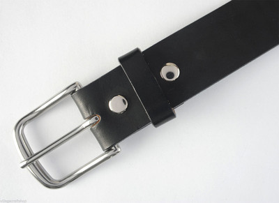 "Classic Leather Belts Made in USA 1.1/4"" width"