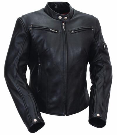 "Ladie Sleek Biker soft naked Leather ""Athena"""