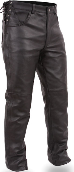 Men's Deep Pocket Leather Over Your Jean pants