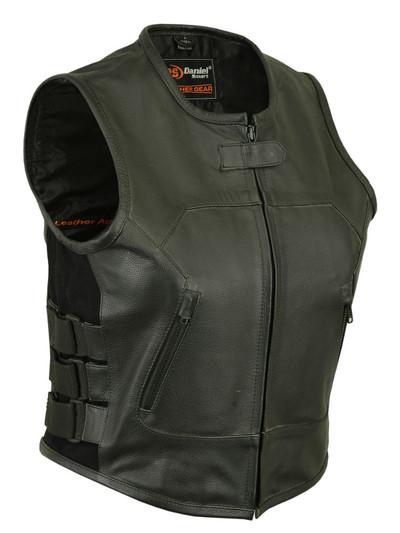 Women's Updated SWAT Team Style Vest black