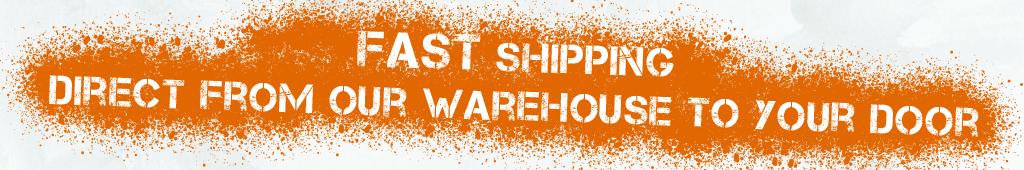 FAST shipping direct from our warehouse to your door