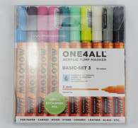 Molotow ONE4ALL 10 colors basic-3 set 2mm