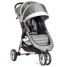 City Mini Single Stroller by Baby Jogger 2017 in Steel Grey - SHIPS NOW