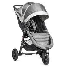 Baby Jogger City Mini GT Single Stroller 2017 in Steel Gray - SHIPS NOW