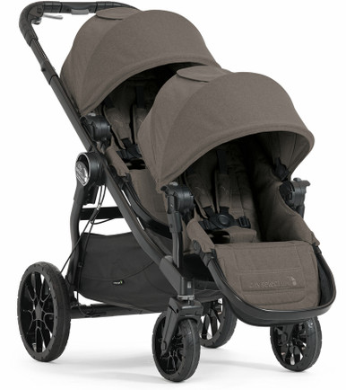 Baby Jogger City Select Lux Double Stroller 2017 In Taupe