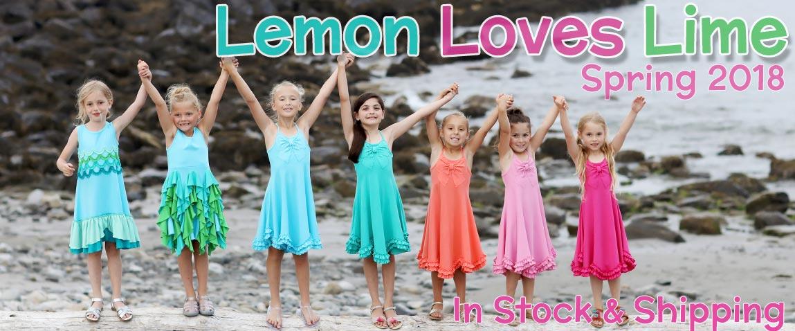 Lemon Loves Lime Spring 2018