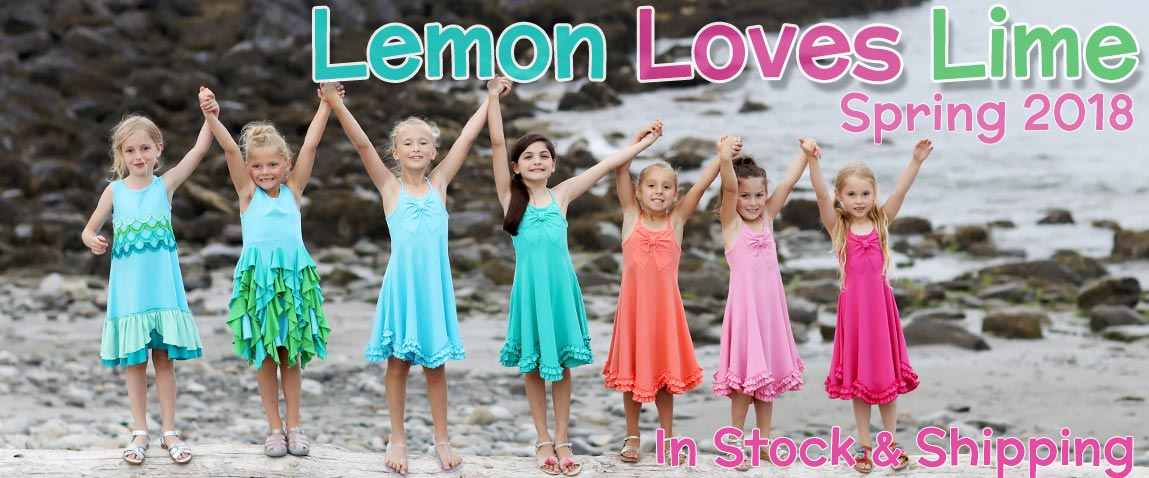 Lemon Loves Lime Spring 2018