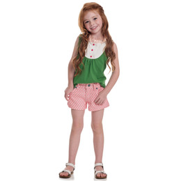 Persnickety Wonderstruck Hazel Short - Pink