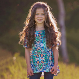 Persnickety Wonderstruck Juliet Top - Multi