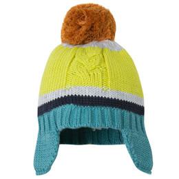 Catimini Poptimiste Pop Pom Pom Hat - Chartreuse