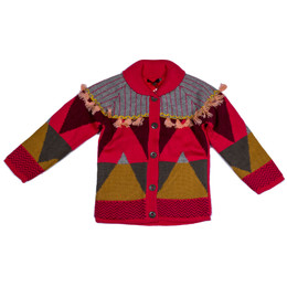 Catimini Queen of the Woods Nomade Long Cardigan Sweater - Multicoloris