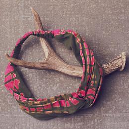 Jak & Peppar Gertrude Headwrap - Electric Pink Olive