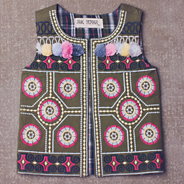 Jak & Peppar Wee One Ringo Vest - Multi (Toddler Sizes)