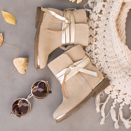 Joyfolie Autumn Boots - Tan