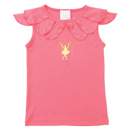 Lemon Loves Lime Sunflower Fairy Tank - Pink